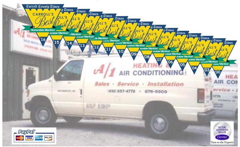 heating air conditioning repair carroll county md