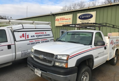 A1 Heating Amp Air Conditioning Repair Carroll County